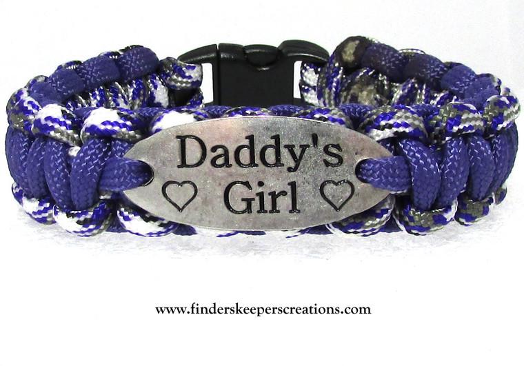 """""""Daddy's Girl"""" Charm Tag Bracelet (225)"""