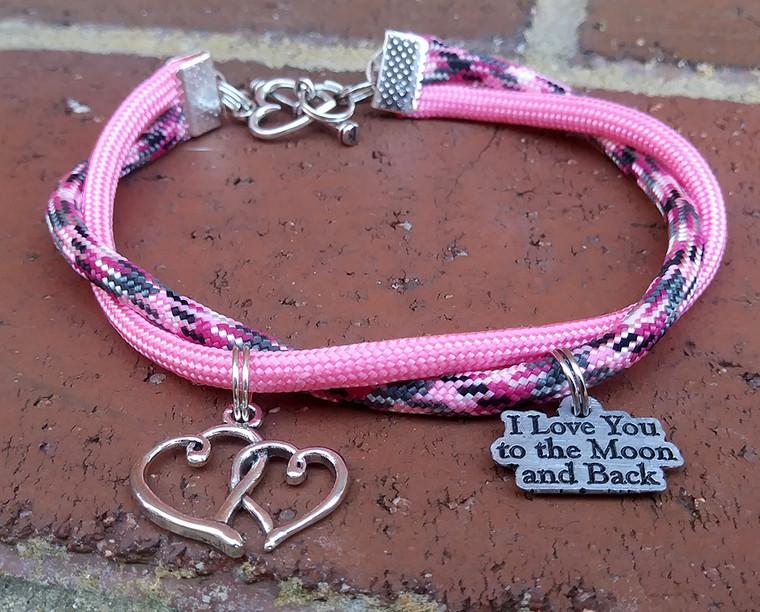 Moon and Back Strand Bracelet