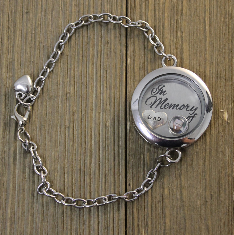 """Ultimate """"Create your own"""" Floating Charm Bracelet (864)"""