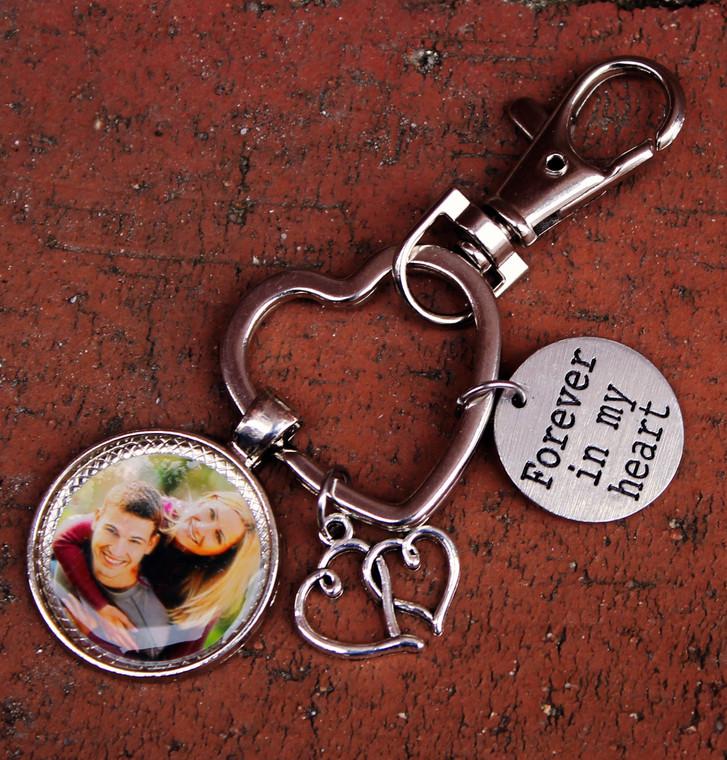 LOVE Photo Key Chain