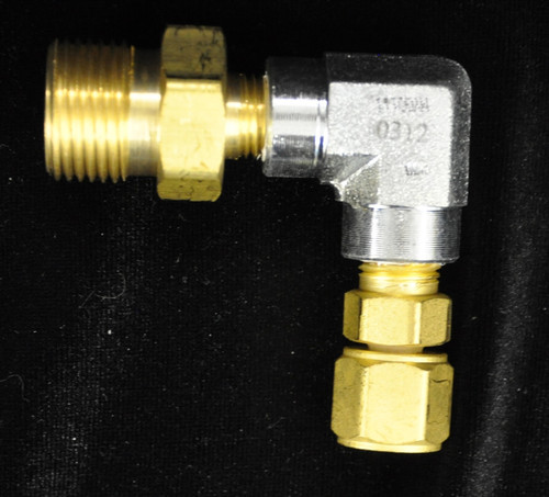 FAM-SC-90, Filling Adaptor, To Fill SCOTT From CGA Male 540 - with 90 degree angle