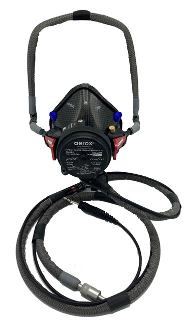 4110-725 Quick Donning High-Altitude Diluter Demand Mask