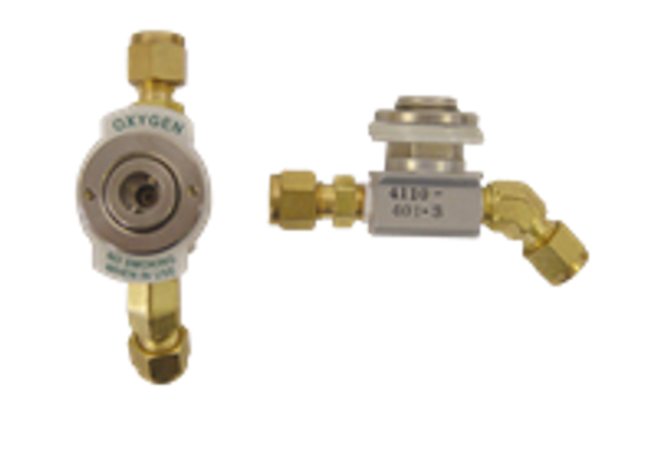 4110-401-3, Single Outlet Manifold Dual Fitting.