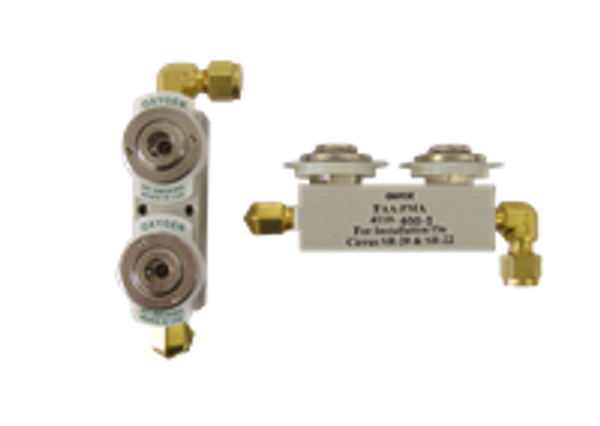 4110-400-1, Dual Outlet Manifold.