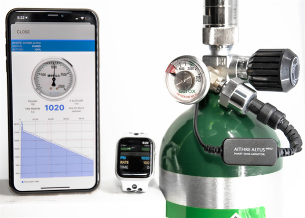 Aithre Altus Meso Standalone Oxygen Monitor