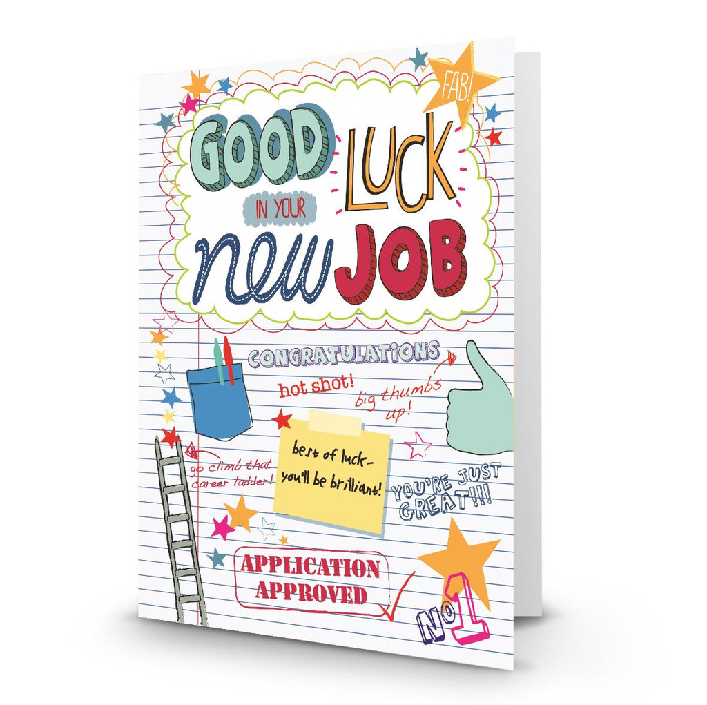 Good Luck New Job