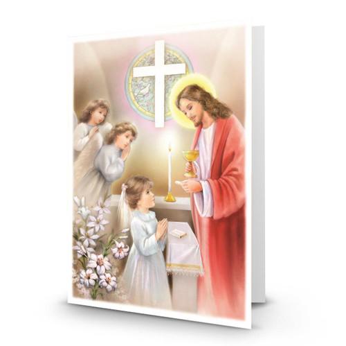 Jesus Serves Communion to a Girl