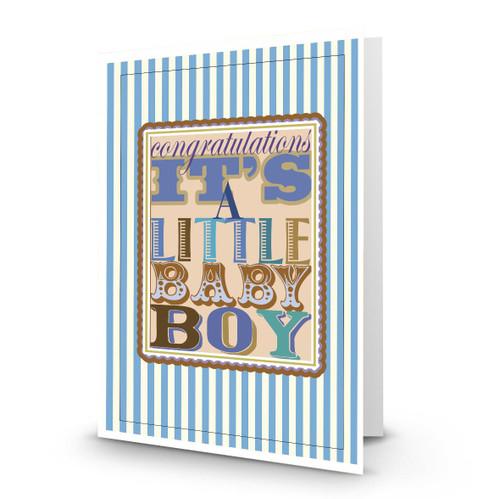 Congratulations It's a Baby Boy