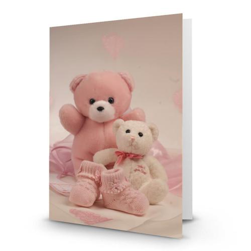 It's a Girl Teddy Bears