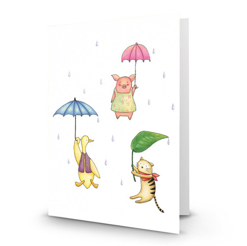 Raining on Duck Pig Cat