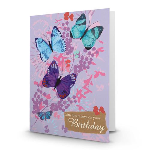 Birthday Butterflies - AA100