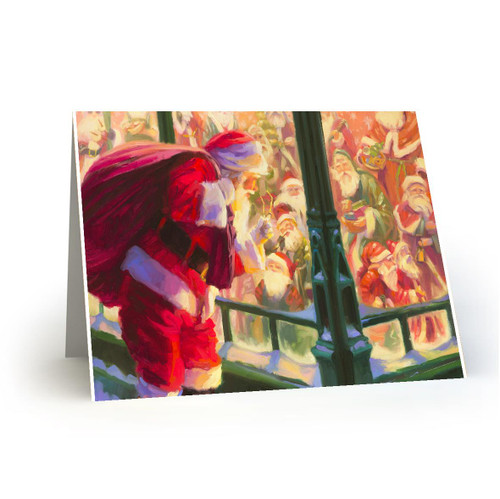 Unforeseen Encounter - Artist Premier Holiday Card in Sets- Box Mailed to You BMTY