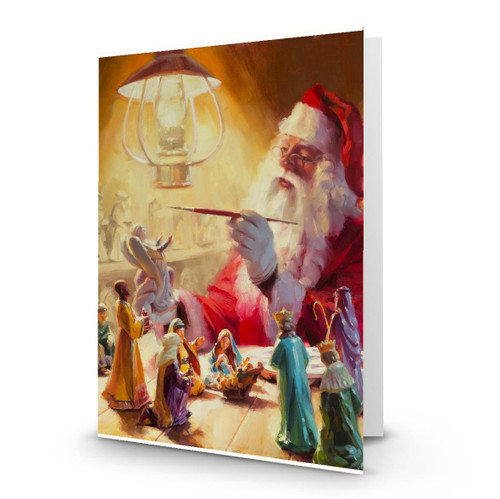 These Gifts are Better Than Toys - Artist Premier Holiday Card in Sets - Box Mailed To You - BMTY