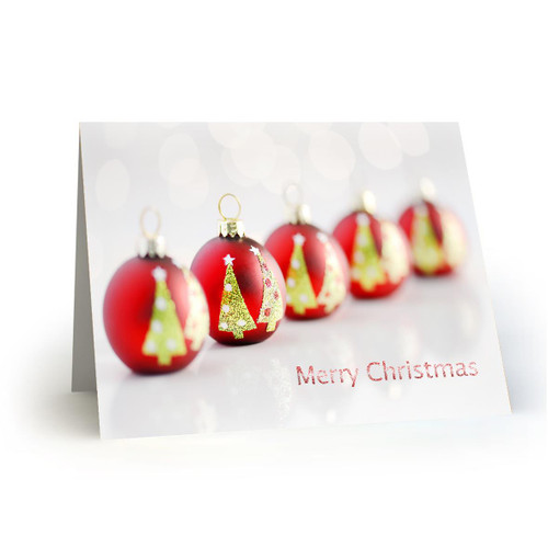 Red Ornaments - Artist Premier in Sets - Box Mailed to You - BMTY