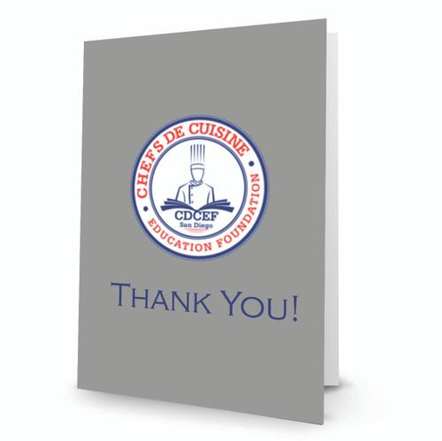 CDCEF Thank You Card P