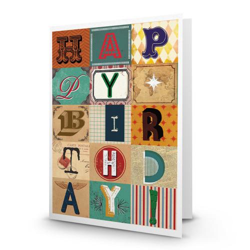 Happy Birthday - Collage - AA100