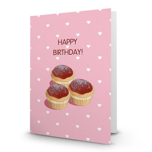 Happy Birthday - Cupcakes - AA100