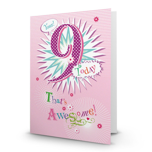 You're 9! - AA100