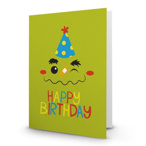 Happy Birthday Face - AA100