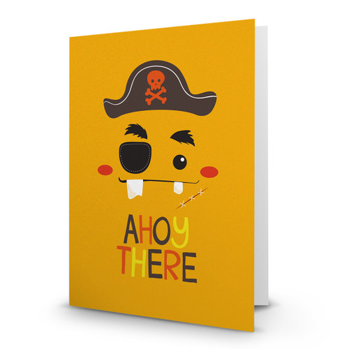 Ahoy There Pirate Face - AA100