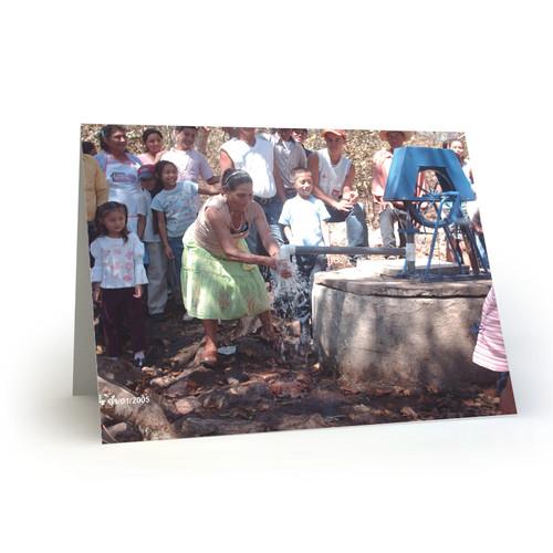 New Clean Water Pump in Nicaragua