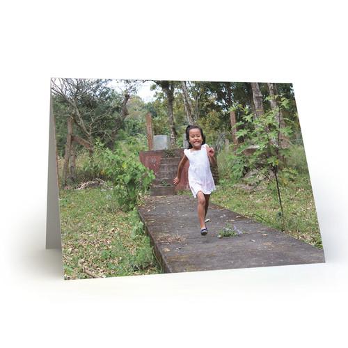 Nicaraguan Child Radiating Joy