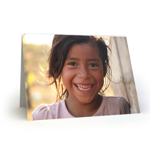 Smiling Girl by Andrew DeCarlo in Nicaragua