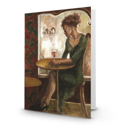 Women in a Paris cafe