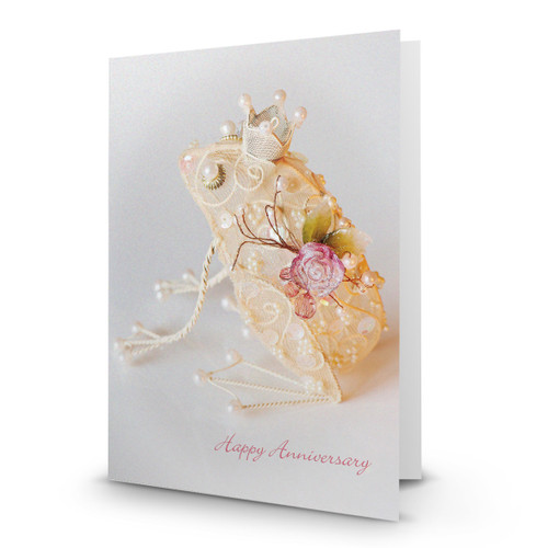Happy Anniversary - Golden Frog - HP100