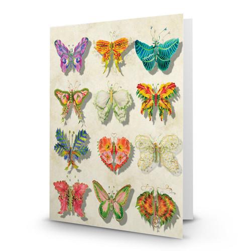 Flower Butterflies 01 - MT100
