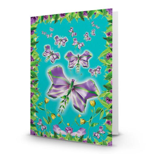 Purple Butterflies - MT100
