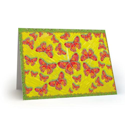 Red Butterflies- MT100