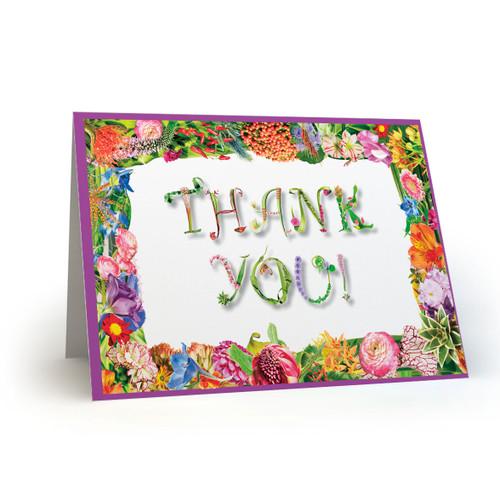 Thank You  (border) - MT100
