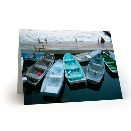 Boats Parked at Bar Harbor - CC100