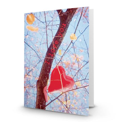Heart In Tree - CB100