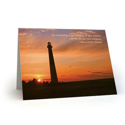 Lighthouse Sunset - CB100