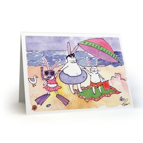 Summer Beach Bunnies  - MT100
