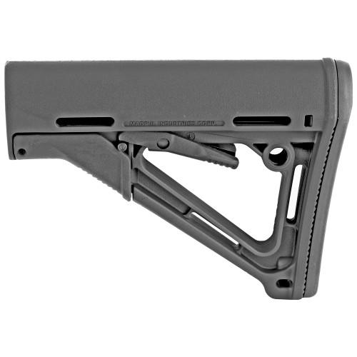 CTR  STOCK - AR15/M4 - MILSPEC BLACK