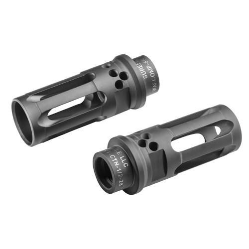 WARCOMP -Closed-Tine Flash Hider  5.56 - 1/2-28 - BLACK