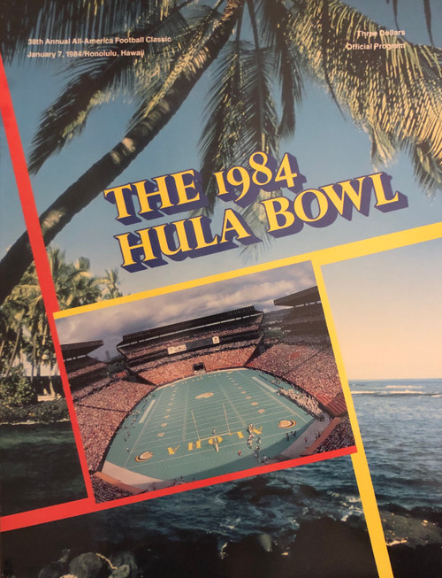 1984 Hula Bowl Program