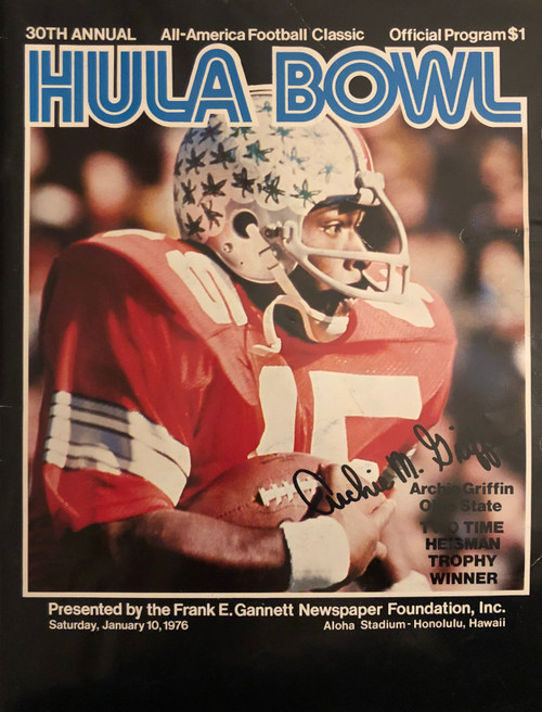 1976 Hula Bowl Program