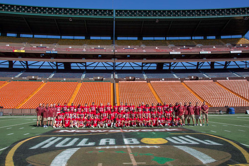Hula Bowl Aina Team Photo
