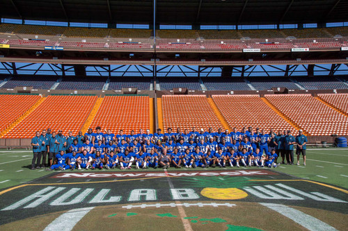 Hula Bowl Kai Team Photo