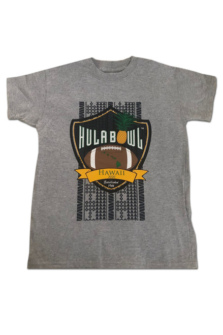 Youth Hula Bowl T-shirt (Gray)