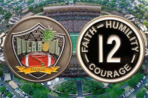 2020 Hula Bowl Game Coin