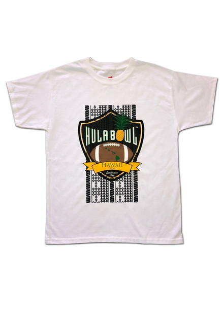 Youth Hula Bowl T-Shirt (White)