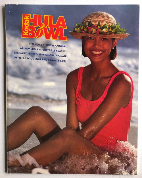 1992 Hula Bowl Program
