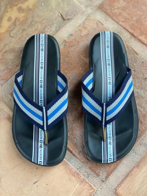 Oahu Blue Flip Flops