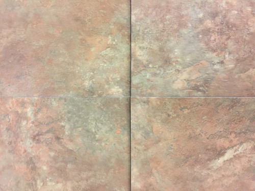 NAFCO Permastone Groutless 16x16 Rose Rock-$1.89 sq ft.