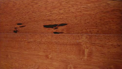 "Sovereign Oak Gunstock 7/16"" x 5"" Floating Engineered Hardwood - $2.99"